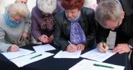 ST 13(66)/2012 Flesz – zbiórka podpisów poparcia dla wiaduktu