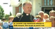 TVN24 na żywo w Jasienicy czyli odwołania ks. Lemańskiego ciąg dalszy…