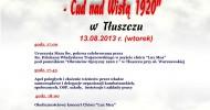 93. rocznica Bitwy Warszawskiej – uroczystości w Tłuszczu