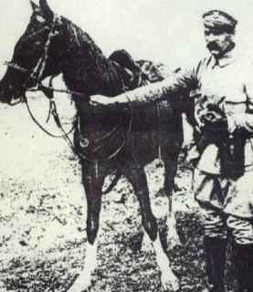 Józef Piłsudski i Kasztanka