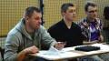 Członkowie zarządu stowarzyszenia Twórcy Jutra - Krzysztof Malinowski, Artur Dzięcioł, Marcin Ołdak, fot.D. Radzka