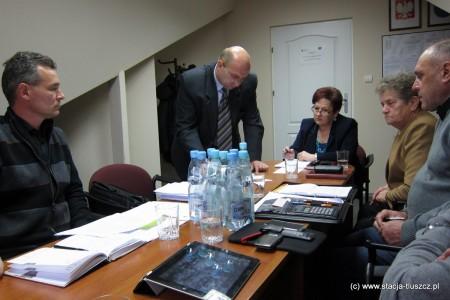 Komisja Budżetu i Inwestycji, 7.11.2012 r.