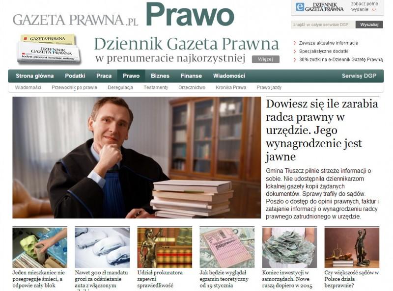 Dziennik Gazeta Prawna, 14.01.2013
