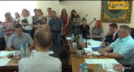XXIII Sesja Rady Miejskiej w Tłuszczu