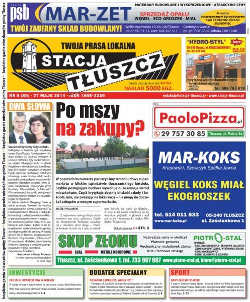 Stacja Tłuszcz nr 5 (85)/2014