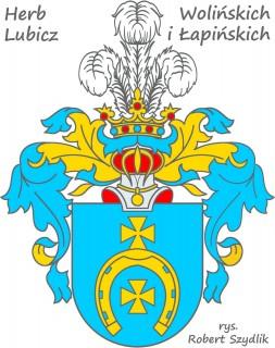 Herb Wolińskich Lubicz i Łapińskich