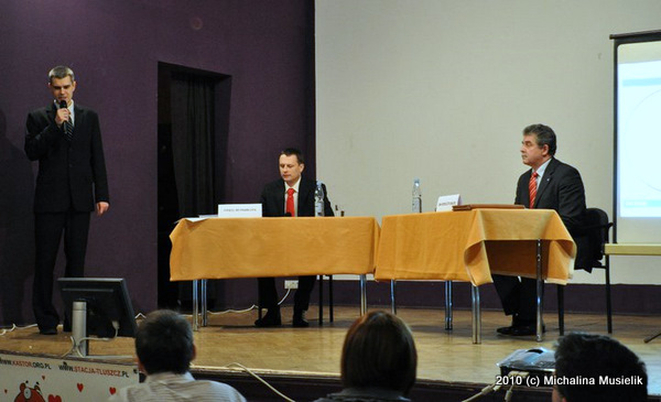 Debata przed wyborami w 2010 roku