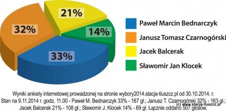 Wykres wybory 2014