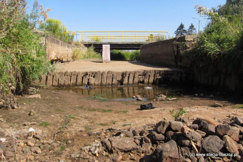 Wyschnięta rzeka Cienka
